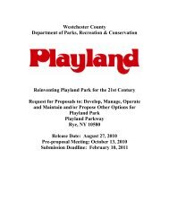 Draft Request for Proposals – Playland Park - Westchester County