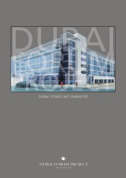 Dubai Forum Fonds I - Emissionsprospekt - Fondsvermittlung24.de