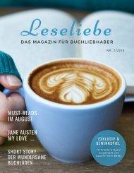 Leseliebe Ausgabe 2-2018 (August 2018)
