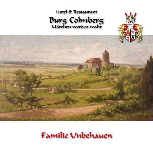 Burg Colmberg Broschuere
