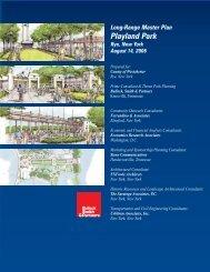 Long-Range Master Plan Playland Park - Westchester County