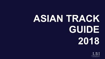 Asian - Track 2018 - IUM Luxury Management