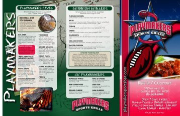 playmaker philly - PLAYMAKERS Sports Grille