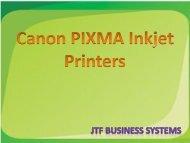 Canon Pixma Inkjet Printer- High-end Printing Capacity