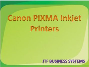 Canon Pixma Inkjet Printer- High-end Printing Capacity