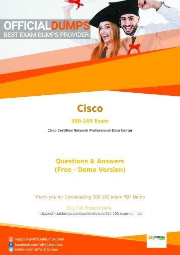 300-165 Exam Dumps - [Actual 2018] Download Updated Cisco 300-165 Exam Questiosn PDF