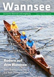 Wannsee Journal Aug/Sept 2018