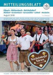 Nürnberg-Eibach/Reichelsdorf/Röthenbach - August 2018