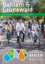 Dahlem & Grunewald Journal Aug/Sept 2018