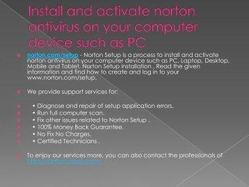 norton.com/setup | www.norton.com/setup -norton product key code