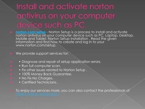 norton com/setup | www norton com/setup -norton product key code