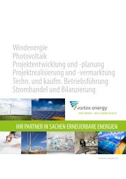 vortex energy Firmenvorstellung