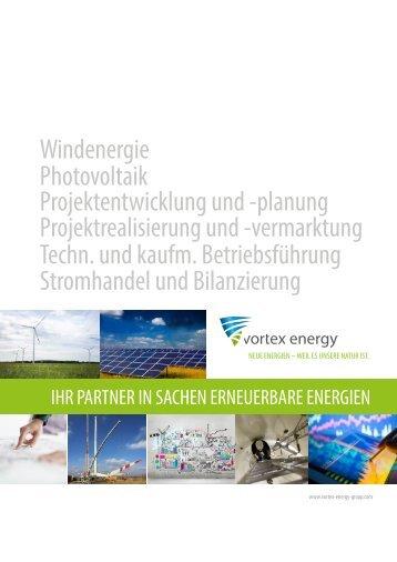 vortex energy Firmenvorstellung
