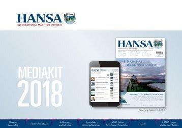HANSA Mediadaten 2018 englisch