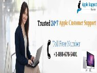 Contact +1-888-678-5401 Apple Customer Service Phone number To Fix All type of apple issues