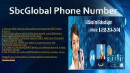 For Any Query Contact 1-(833)-284-2444 SBCGlobal Phone Number