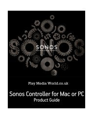 Sonos Controller For Mac Or PC - Play Media World