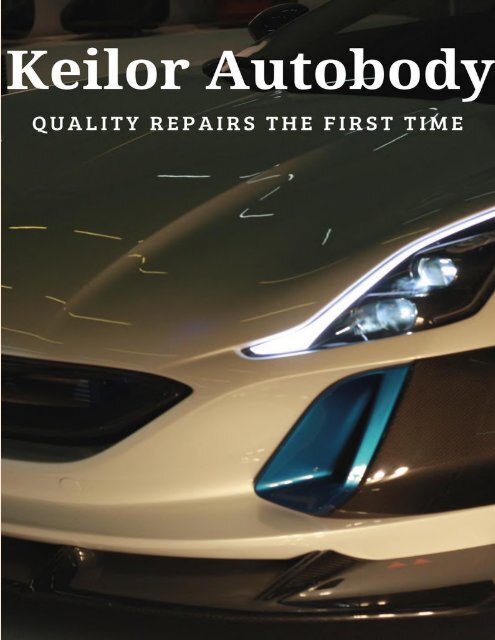 Increase the Resale Value of Your Car by Carrying Out Scratch Repairs