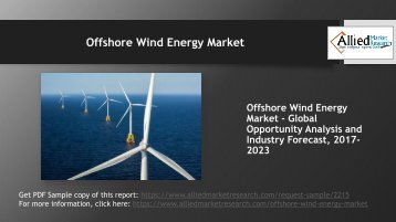 How would the future look like for Offshore Wind Energy Market in the coming years?