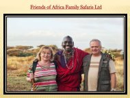 Friends of Africa Family Safaris Ltd