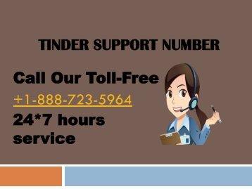 tinder support number