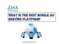 What is the best mobile ad serving platform