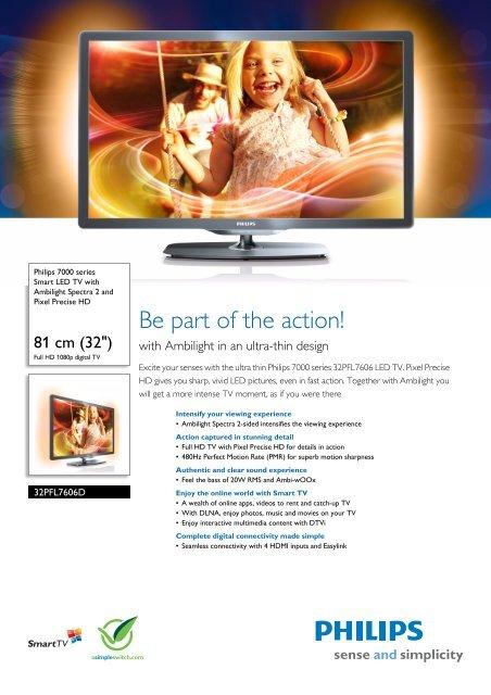 Philips 46PFL7606D/78 LED TV 64 Bit