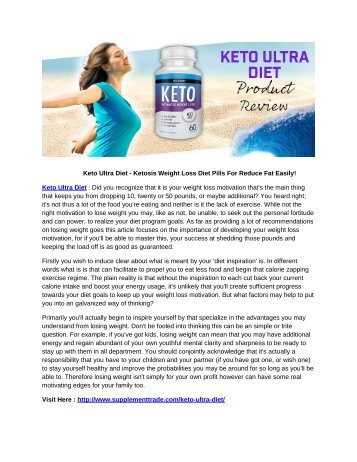 Keto Ultra Diet - Burn Fat Faster Than Ever As Seen On Shark Tank