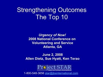 PM- Strengthening_Outcomes__The_Top_Ten - National Service ...