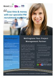 Save time & money with our specialist PM recruitment expertise