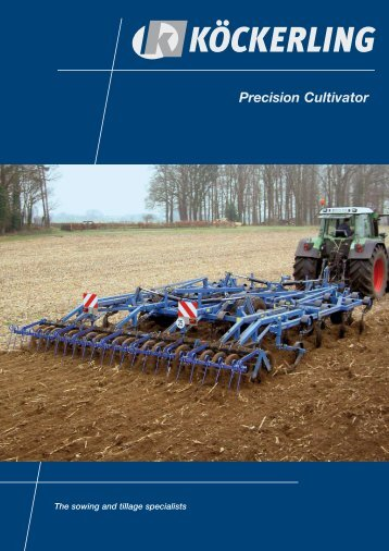 Precision Cultivator The Cultivation King