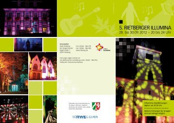 Flyer 5. Rietberger Illumina (1,9 MB) - Stadt Rietberg