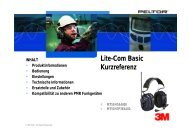 Lite-Com Basic Kurzreferenz - Schweiz 3M Shop