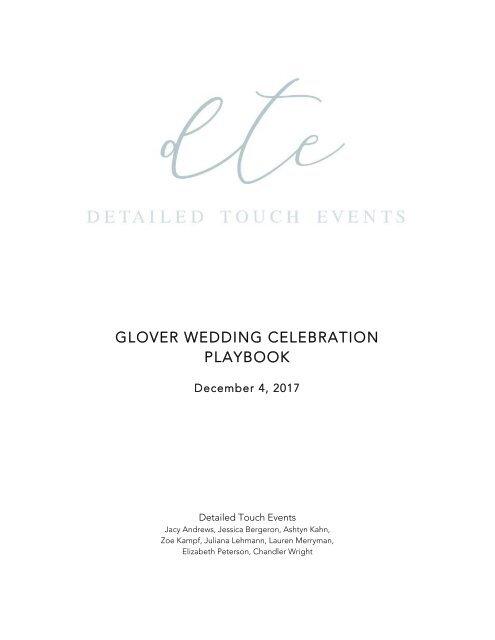 GLOVER WEDDING CELEBRATION final edit