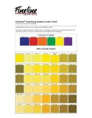 Pantone@ Matching System Color Chart PMS ... - Fineline Imprints