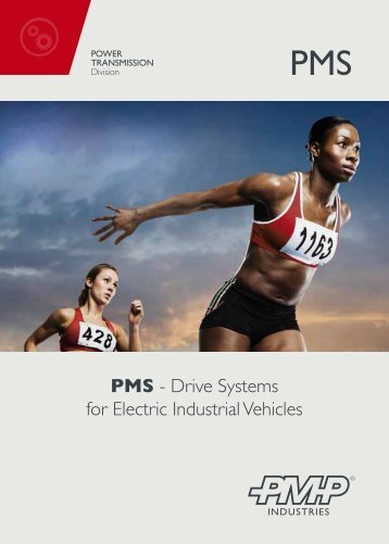 Link> PMS series, drive systems for electric industrial - Pmp Industries