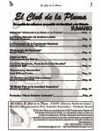 REVISTA EL CLUB DE LA PLUMA - JULIO 2018 - Page 3