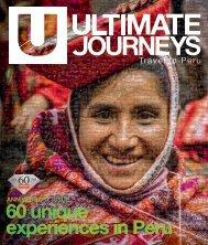 UJ #12 - 60 unique experiences in Peru