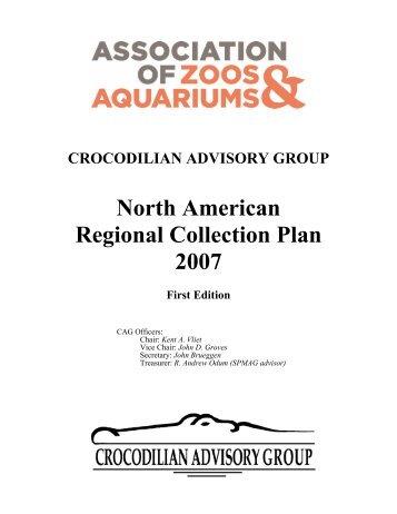 North American Regional Collection Plan 2007 - Crocodilian ...