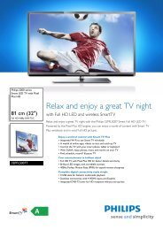 32PFL5007T/12 Philips Smart LED TV with Pixel Plus HD