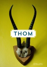 THOM 1 | Fall / Winter 2013