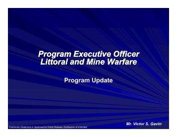 Program Executive Officer Litt l d Mi W f Program Executive Officer ...