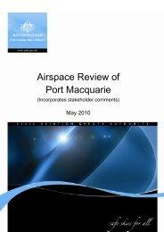 Aeronautical Study of Port Macquarie - Civil Aviation Safety Authority