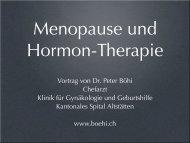 Menopause - Praxis Dr. med. Peter Böhi