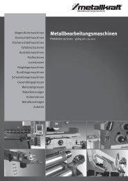 Metallbearbeitungsmaschinen - Metallkraft