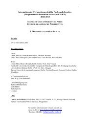Download - Centre Marc Bloch - HU Berlin