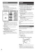 Sony CDX-GT230 - CDX-GT230 Mode d'emploi Croate - Page 4