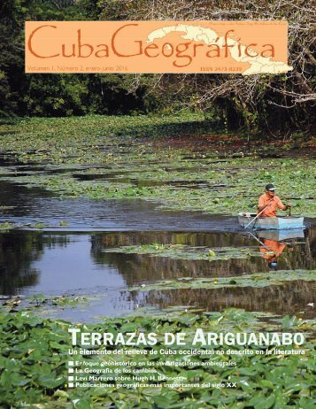 Cuba Geografica Volumen 1 Numero 2
