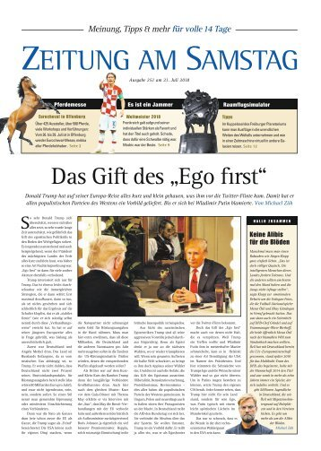 251. Ausgabe, ET 21.07.2018